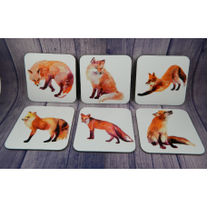 Coaster Set - Foxes