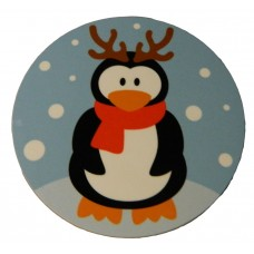 Christmas Coaster - Penguin