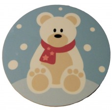 Christmas Coaster - Polar Bear